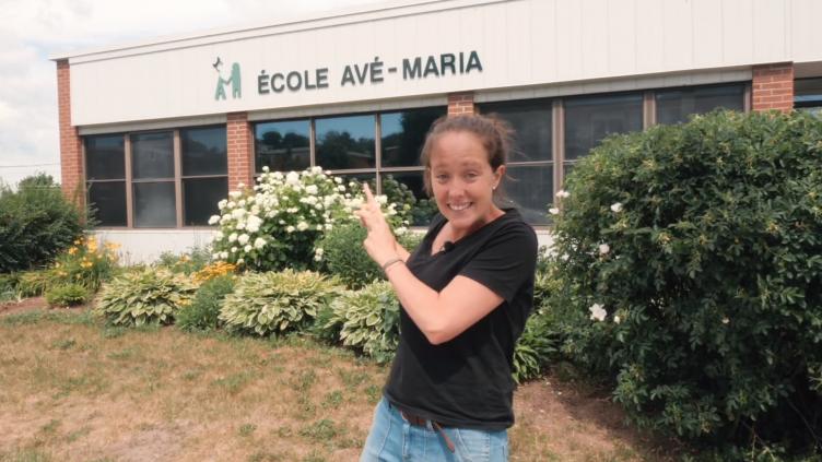 Visite virtuelle de l'école pour les élèves de la maternelle